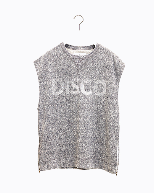 Sleeveless Rocky Shirts - Light Grey